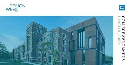 College Avenue Campus Tour: Lunch & Learn (Regina) tickets