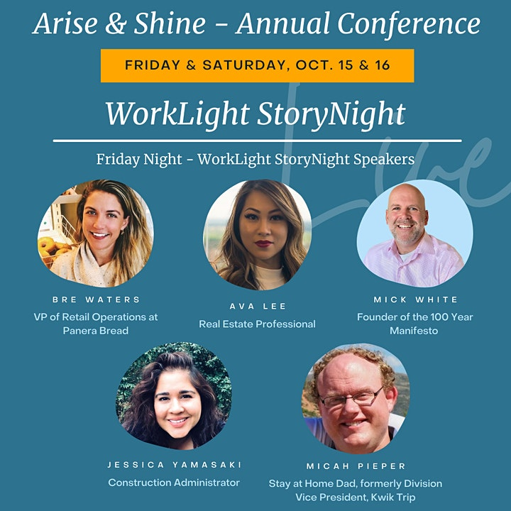 ARISE & SHINE | 2021 WorkLight Annual Conference image