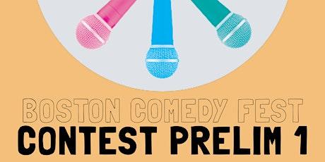 Boston Comedy Festival: Prelim Round 1 tickets