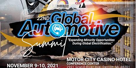 22nd Annual Rainbow PUSH  Global Automotive Summit tickets