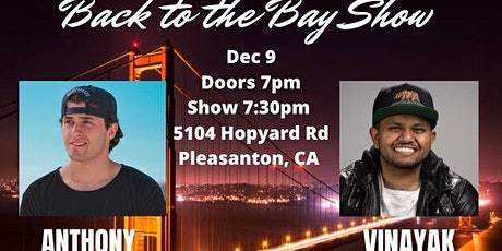 Back to the Bay Comedy Show tickets