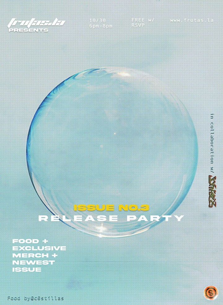 Frutas_Magazine ISSUE NO.3 Release Party hosted by @softflex.offical image