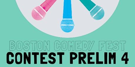 Boston Comedy Festival: Prelim Round 4 tickets