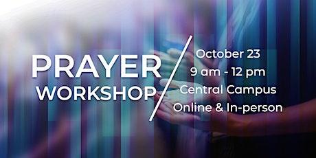 Prayer Workshop tickets