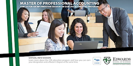 Master of Professional Accounting (MPAcc) - General SK Info Session tickets