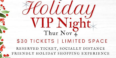 Branches Holiday VIP Night 2021 tickets