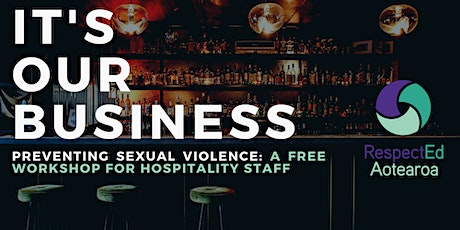 It's Our Business – Sexual Violence Prevention in Hospitality tickets