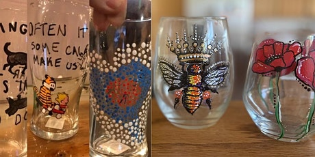 Glass Painting!  Beer Pints or Wine Glasses! tickets