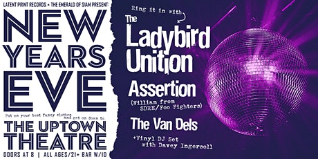 New Year's Eve with The Ladybird Unition, Assertion and The Van Dels tickets