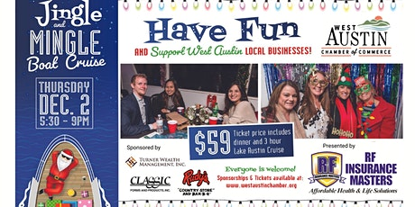 Holiday Jingle & Mingle Boat Cruise on Lake Austin tickets
