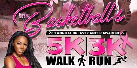 Ms. Basketball's 2nd Annual I Hoop Too Foundation Walk/Run for Breast Cance tickets