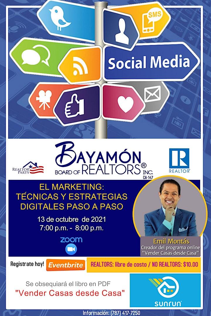 """El Marketing: """"Técnicas y Estrategias Digitales Paso a Paso"""" image"""