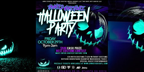 DWH STUDIO PRESENT: THE HAUNTED WAREHOUSE HALLOWEEN PARTY tickets