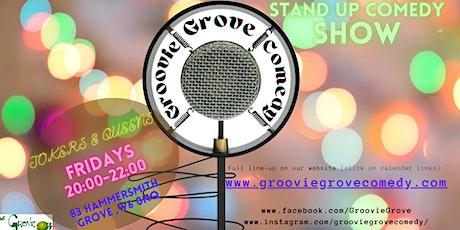 Jokers & Queens Comedy Night - Groovie Grove tickets