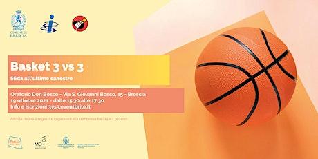 Basket 3 vs 3 biglietti