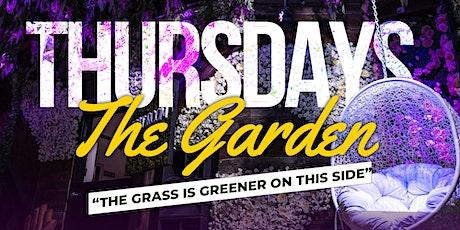 The Garden Thursdays @ZebbiesGarden (MayflowerClubDC) tickets
