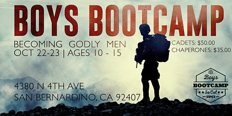 Boys BootCamp 2021 tickets