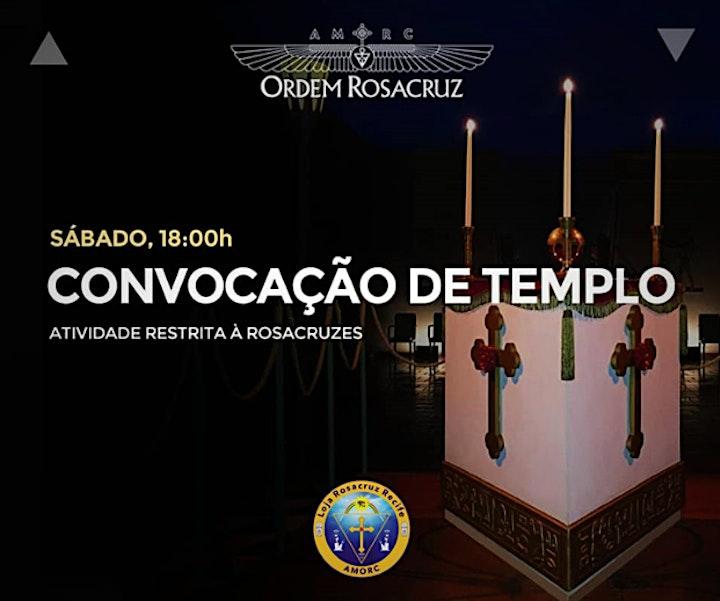Imagem do evento Convocação Ritualística de Templo - 23 de outubro de 2021