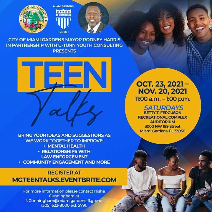 Miami Gardens Teen Talks image