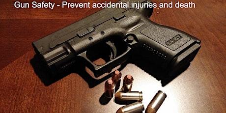 Free Gun Safety Workshop - prevent accidental injuries and death tickets