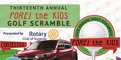 Fore! the kids Golf Tournament tickets