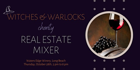 Witches, Warlocks & Wine Charity Real Estate Mixer tickets
