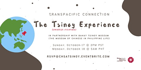 The Tsinoy (Chinese-Filipino) Experience tickets