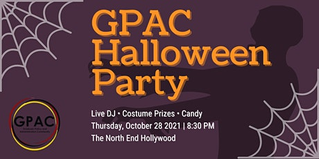 USC GPAC Halloween Party tickets