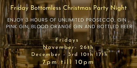 Fridays Bottomless Christmas Party tickets