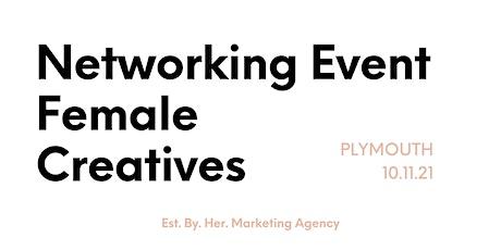 Female Creatives Networking Event - Plymouth Devon November 2021 tickets