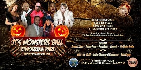 JT's Monsters Ball tickets