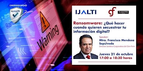 RANSOMWARE: Qué hacer  cuando te quieren secuestrar tu información digital? entradas