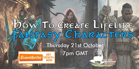 How To Create Lifelike Fantasy Characters tickets