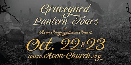 Graveyard Lantern Tours at Avon Congregational Church - 2021 tickets