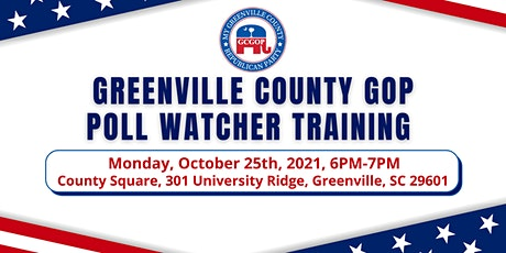 GCGOP - Poll Watcher Training with Elections Director Conway Belangia tickets