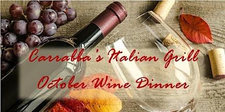 Second October Wine Dinner tickets
