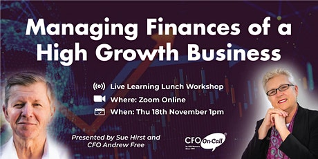 Managing Finances of a High Growth Business tickets