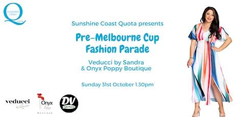 Pre-Melbourne Cup Fashion Parade tickets