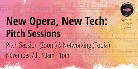 NOV 7 | New Opera, New Tech: Industry Pitch Sessions tickets