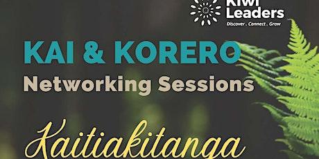 Kiwi Leaders Kai & Korero tickets