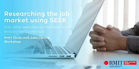 Essential Job Search Skills - Using Seek and other online tools tickets