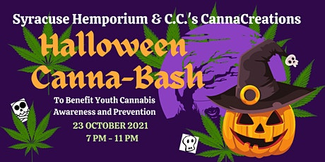 Halloween Costume Canna-Bash to Benefit Youth Awareness & Prevention tickets