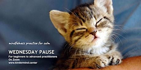 Mindfulness Meditation: Wednesday Pause - Melbourne tickets