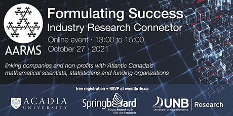 Formulating Success: Industry Research Connector 2021 tickets