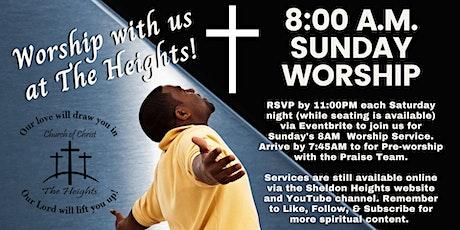 SHCC's 8am Worship Service tickets