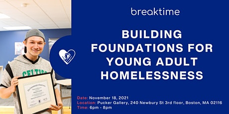 Building Foundations for Young Adult Homelessness tickets