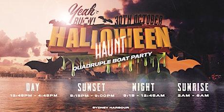 Yeah Buoy - Halloween Haunt - 4 Boat Parties tickets