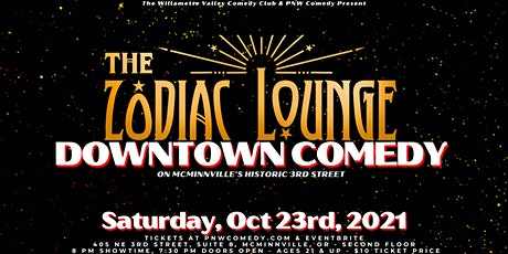 Downtown Comedy in McMinnville! tickets