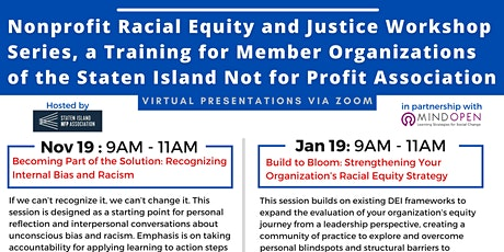 Racial Equity & Justice Training  for Staten Island Nonprofits tickets