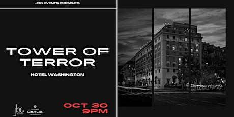 Tower of Terror: Halloween at Hotel Washington tickets